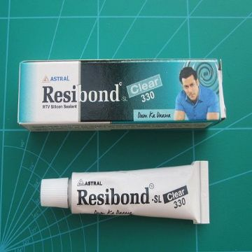 Watch Crystal Fix Resibond SL 330 Clear Sealant 2 x 10ML Tube